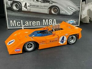 GMP 1:18 1968 Bruce McLaren Can Am race car Chevy V8 McLaren M8A  #4  No.12021