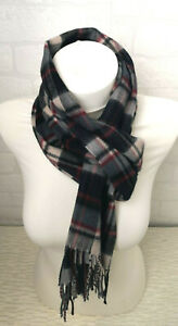 Urban Outfitters Soft Scarf Wide Softer Than Cashmere Checked Unisex D909