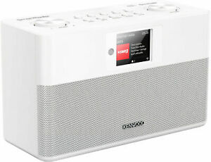 KENWOOD CR-ST100S-W Internetradio (DAB+, UKW, Weiß)