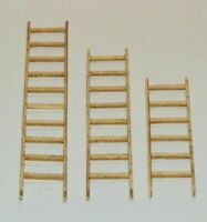 Plus Model Ladders / Leitern aus Holz 1:35 Art. 401 Diorama