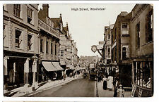 High St, Winchester, PPC Unposted, Lively Edwardian Street View with Shopfronts