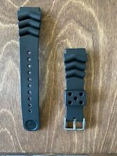 Seiko 22mm OEM Rubber Dive Strap For Model Series SKX007, SKX009 Watches #4FY8JZ
