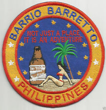 BARRIO BARRETTO PHILIPPINES PATCH, NOT JUST A PLACE, AN ADVENTURE..SM & GIRL   Y