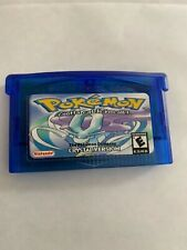 Pokemon Crystal GBA Gameboy Advance