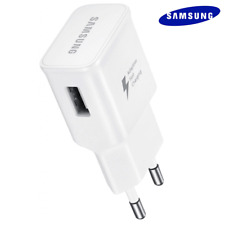 "CHARGEUR USB 2A ""Fast Charging"" EP-TA20EWE Blanc / SAMSUNG Galaxy S8, S8+"