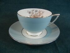 Minton Twilight on Turquoise Pattern S674 Cup and Saucer Set(s)
