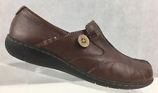 Clarks 35063 Bendables Sixty Delta Slip On Split Toe Loafers Women's Size US 8M