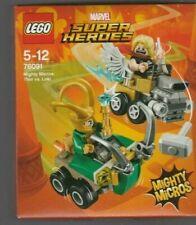 lego 76091 marvel super heroes mighty micros thor vs loki neuf 5-12 ans