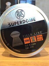 Rws Superdome Field Line Pellet .177 Cal Quality domed Pellet Ruag