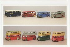 #DAL1/S28/D164 Coaches & Buses - Dinky Toys Postcard