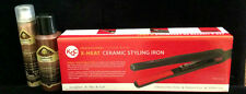 """KQC X-Heat 1"""" Flat Iron + Thermail Shine Spray + Glitter  - FREE FAST DELIVERY"""