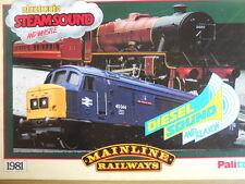Catalogo treni Mainline Railways OO 1981 - ENG