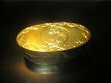 Fine Louis XV1 Gilt Bronze Snuff Box Circa: 1775-1795