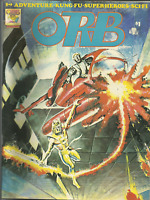 ORB,Horror - Adventure-Science Fiction Magazine, #5, Jan Feb.1975,Free shipping