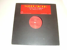 """Shukie – Lost In Lagos – Disco 12"""" Vinile Single Sided Stampa UK 2004 House"""