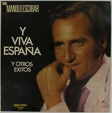 MANOLO ESCOBAR Y Viva Espana SPAIN Belter LP Near Mint LATIN IMPORT 1974