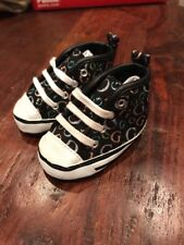 Guess Baby Girl Infant Crib Baby Shoes Tyler Hi G Size 0 - 6 Weeks