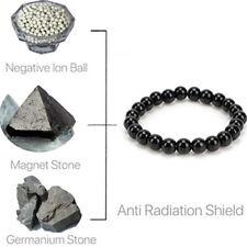 Anti EMF Radiation Protection Pendant Bio Scalar Energy Bracelet Tourmaline