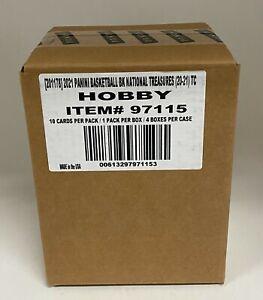 2020-21 National Treasures Basketball Hobby 4-Box Case Sealed - LaMelo Ball RC