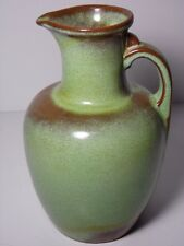 VINTAGE 1980 FRANKOMA PLAINSMAN GREEN 24 OUNCE PITCHER 8 CARAFE JUG LIME BROWN