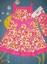 Polly & Friends Dress Girls Sz 5 Polka Dot Sleeveless Bow Plus Doll Dress
