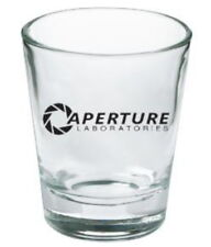 The Aperture Laboratories Portal Video Game Shot Glass LIMITED EDITION