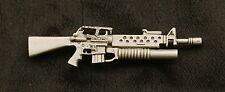 Empire Pewter M16 w/ Grenade Launcher Pewter Gun Pin