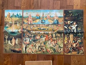 RARE Jigsaw Puzzle 10000 Educa THE GARDEN OF EARTHLY DELIGHTS by Bosch #7476