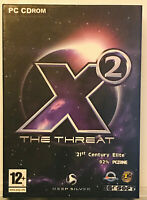 X2 The Threat PC (Boxed with manual) CDROM