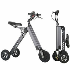 250W Electric 3-wheels Bike Folding Brushless Motor Trike for adults Tricycle
