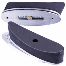 Genuine Bisley Adjustable Rubber Recoil Butt Pad Shoulder Rifle Buttplate