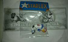 figurine starlux vintage, coq jules mascotte football foot / Neuf NEW