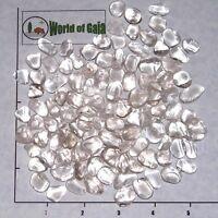 QUARTZ Clear B Grade mini-xsm tumbled 1/2 lb bulk stones crystal