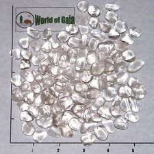 QUARTZ Clear B Grade mini-xsm tumbled 1/2 lb bulk stones crystal