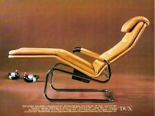 1981 Leather Cicero Recliner photo DUX Interiors Furniture promo print ad