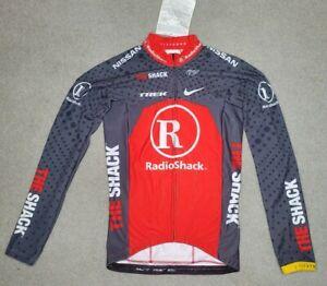 Mens Nike Radio Shack Cycling Jacket size M 3-48 Italy NIKE SAMPLE RARE