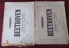 Vintage & Antique Sheet Piano Scores Books