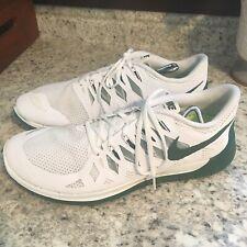 Nike free run 5.0 14 hombres zapatillas antracite blanco