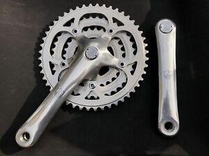 Campagnolo Euclid Retro Mountain Bike Chainset Triple Mtb Touring 170mm 28/38/48