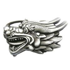 Chinese Dragon I Gürtelschnalle China Chinesischer Drache Asien Asia Asian RPG
