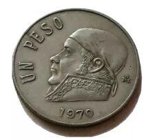 1970 Mexican Un Peso in UNC Condition Nice Collectible Coin!