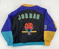 Nike Air Jordan 1992 Vintage Hooded Windbreaker Jacket Mens Size XXL