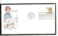 US SC # 1859 Sequoyah FDC . HF Cachet
