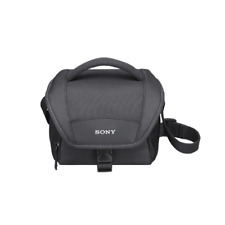 SONY LCSU11 Soft Carrying Case for Cameras - Black
