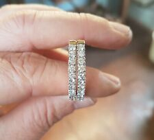 One Pair 18ct Gold Diamond Earrings 1.65cts