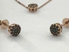 Orecchini Punto Luce in oro 18 Kt e diamanti neri ct 0,30 PREZZO IMBATTIBILE
