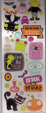 Momenta HALLOWEEN themed thick foam stickers~so cute! USEFUL!! Quick Ship!