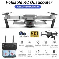 4K 1080P RC Drone x Pro Foldable Quadcopter Drone Dual Camera| WiFi FPV GPS 3D