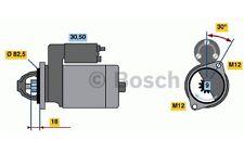 BOSCH Motor de arranque 1,8kW 12V VOLKSWAGEN PASSAT AUDI A4 A6 0 986 016 240