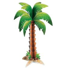 HAWAIIAN LUAU TROPICAL PIRATE PARTY FOAM PALM TREE CENTREPIECE DECORATION